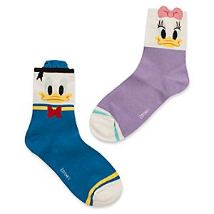 Donald and Daisy Duck Socks for Women