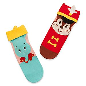 Dumbo and Timothy Mouse Socks for Women