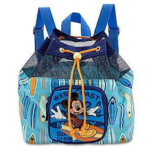 Mickey Mouse Backpack Swim Bag