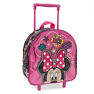 Minnie Mouse Clubhouse Rolling Luggage – Small
