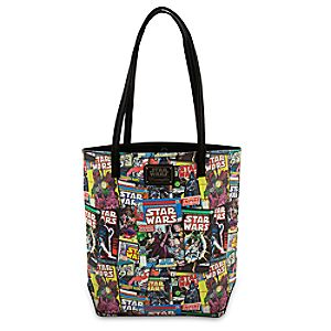 Star Wars Comic Tote by Loungefly