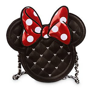 Minnie Mouse Icon Crossbody Bag by Loungefly