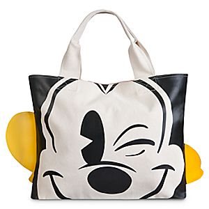 Mickey Mouse Face & Feet Tote Bag
