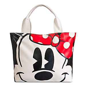 Minnie Mouse Face & Feet Tote Bag