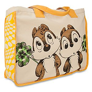 Chip n Dale Canvas Tote