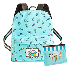Disney Tsum Tsum Backpack with Pouch
