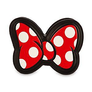 Minnie Mouse Bow Crossbody Clutch Bag