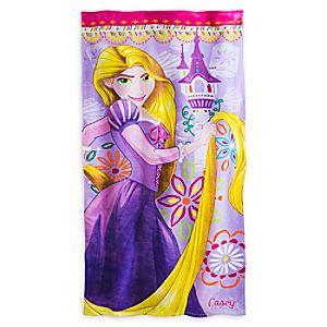 Rapunzel Beach Towel - Personalizable