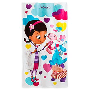 Doc McStuffins Swim Towel - Personalizable