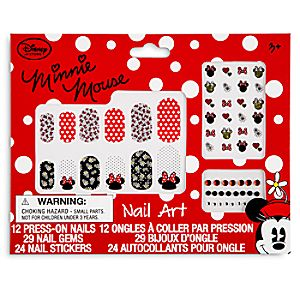 Minnie Mouse Nail Art Kit