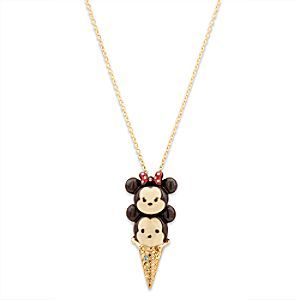Mickey and Minnie Mouse Tsum Tsum Necklace