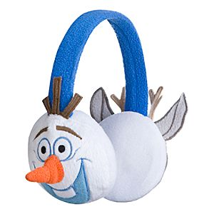 Olaf and Sven Ear Muffs for Kids - Frozen