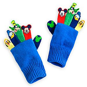Mickey Mouse Clubhouse Knit Gloves for Kids