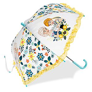 Anna and Elsa Umbrella for Kids