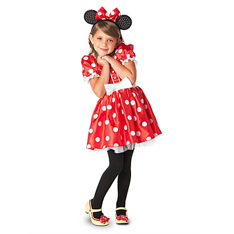 Classic Minnie Mouse Costume for Girls