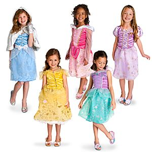Enchanting Disney Princess Costume Wardrobe Set for Girls -- 12-Pc.