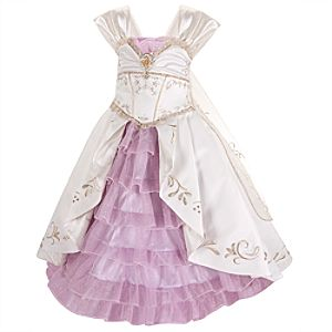 Limited Edition Rapunzel Wedding Gown Costume for Girls