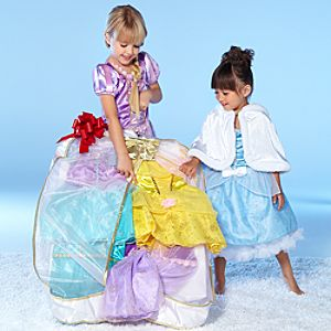 Disney Princess Wardrobe Set for Girls