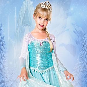 Elsa Limited Edition Costume for Girls - Frozen