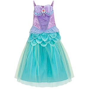 The Little Mermaid Ariel Costume for Girls