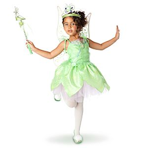 Glow-in-the-Dark Tinker Bell Costume for Girls