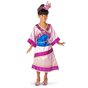 Mulan Costume for Girls