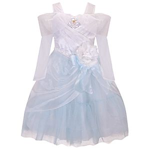 Disney Princess Wedding Cinderella Costume for Girls