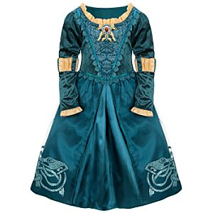 Adventure Brave Merida Costume for Girls