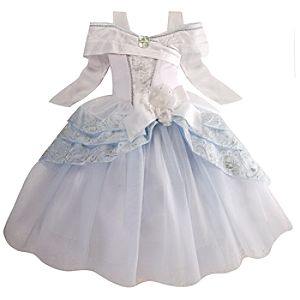 Deluxe Cinderella Wedding Costume for Girls