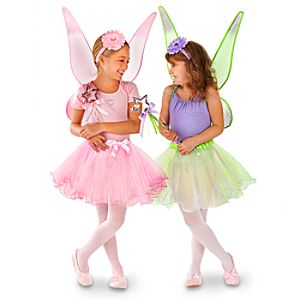 Disney Fairies Dress Up Set for Girls -- 8-Pc.