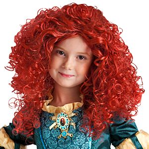Merida Hair Piece for Girls