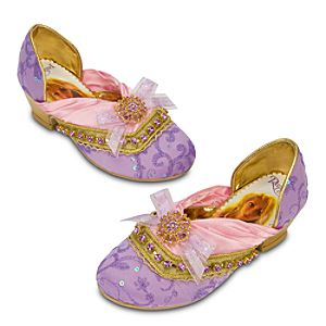 Deluxe Tangled Rapunzel Shoes for Girls
