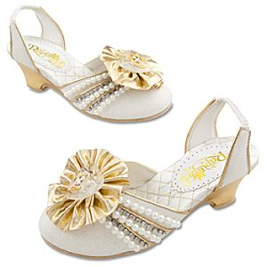 Tangled Ever After Rapunzel Wedding Shoes for Girls