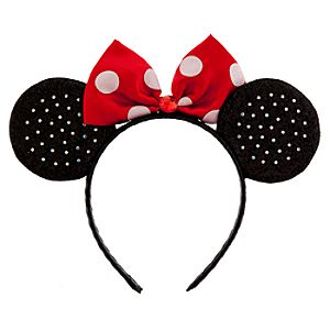 Classic Minnie Mouse Ears Headband for Women