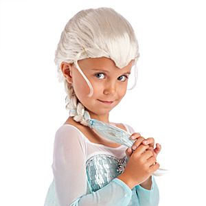 Elsa Wig for Girls - Frozen
