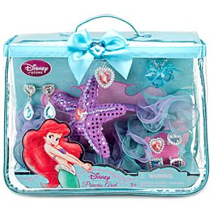 Disney Princess Ariel Costume Accessories Set -- 10-Pc.