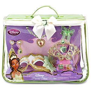 Disney Princess Tiana Costume Accessories Set -- 10-Pc.