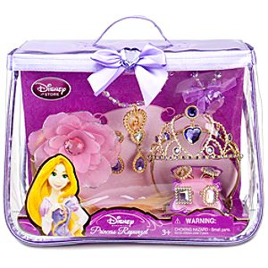 Disney Princess Rapunzel Costume Accessories Set -- 10-Pc