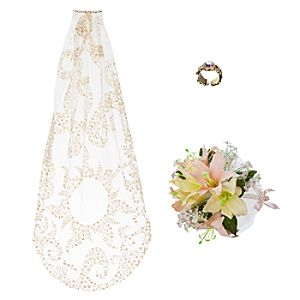 Rapunzel Wedding Costume Accessory Set for Girls -- 3-Pc.