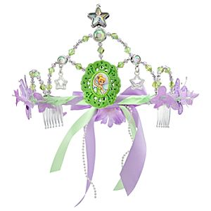 Floral Tinker Bell Tiara for Girls