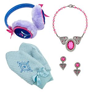 Anna Costume Accessories Set for Girls - Frozen
