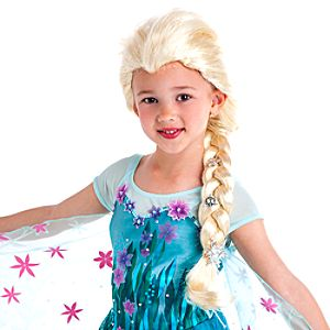 Elsa Wig for Girls