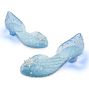 Elsa Light-Up Shoes for Girls - Frozen