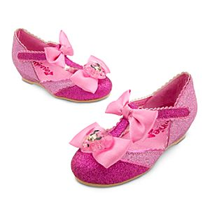 Minnie Mouse Costume Shoes for Girls