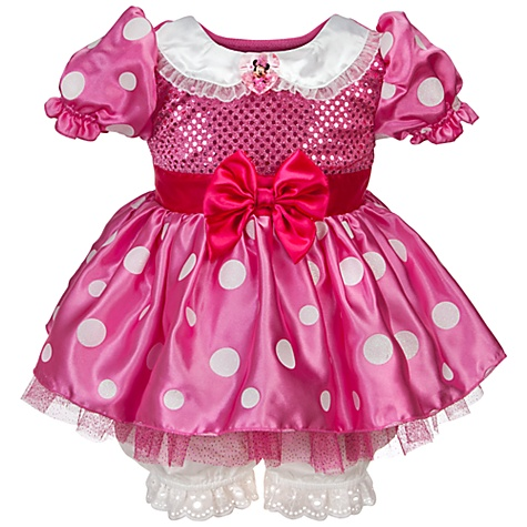 Minnie Mouse Costume for Baby and Toddler Girls
