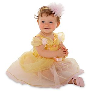 Belle Costume for Baby and Toddler Girls