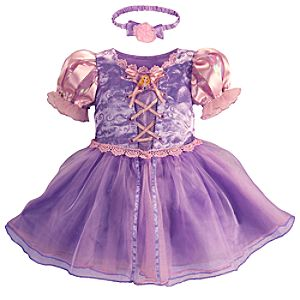 Rapunzel Costume for Baby Girls