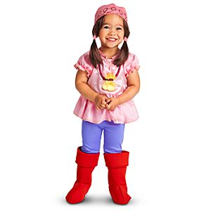 Jake and the Never Land Pirates Izzy Costume for Girls