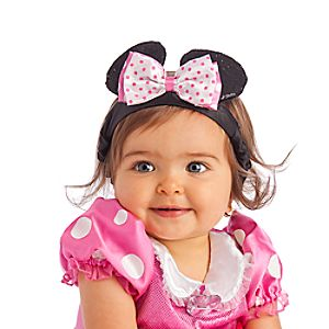 Minnie Mouse Ear Headband for Girls