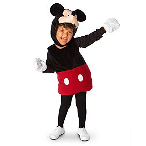 Plush Mickey Mouse Costume for Babies and Toddlers